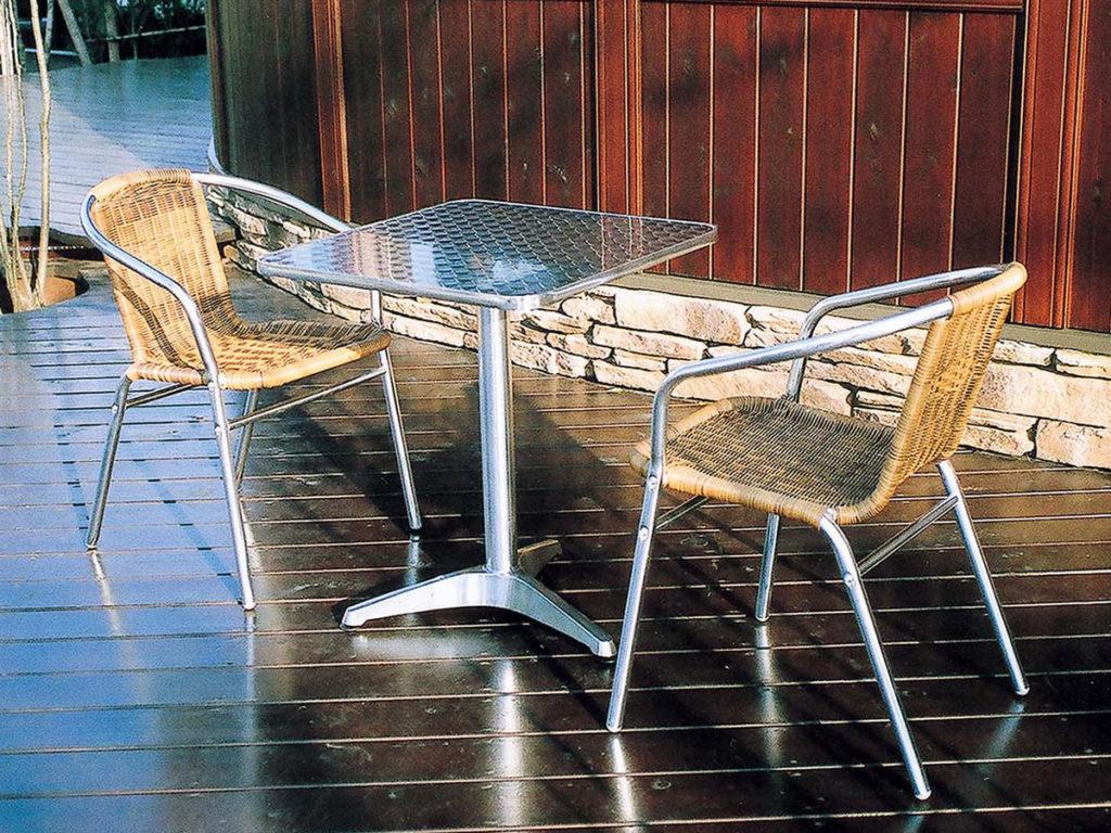 業務用テラス席に!カフェテーブルセットB