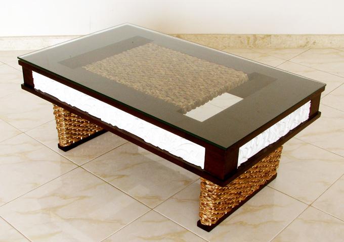 バリ風100センチのローテーブル