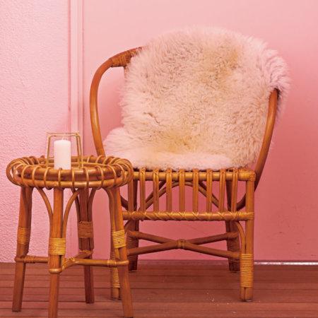 アンティーク風ラタンチェア(椅子)