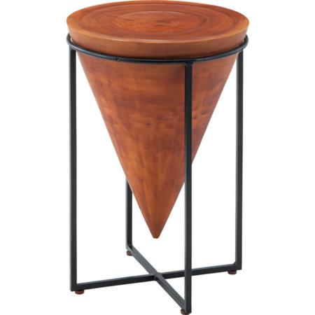 アジアン丸サイドテーブルLサイズ